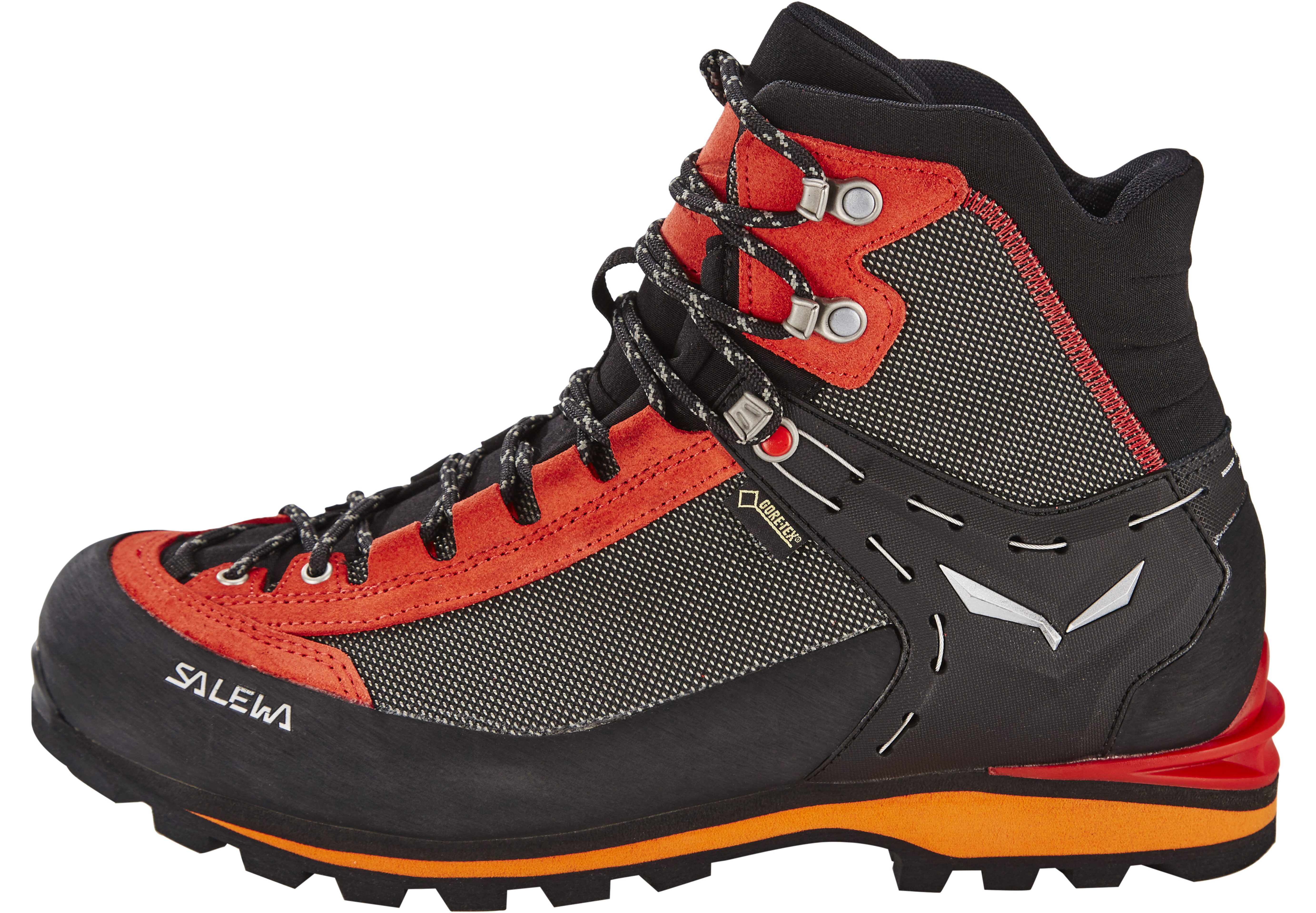 Salewa Crow GTX Shoes Men red black at Addnature.co.uk 054851682cc